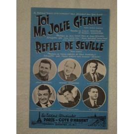 """""""toi ma jolie gitane"""" (paso-doble chanté) et """"reflet de séville"""" (paso-doble) par ségurel, monedière, lansade, cariny, verchuren, delale"""