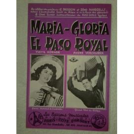 """""""maria-gloria"""" et """"el paso royal"""" (paso-doble) par yvette horner et andré verchuren"""