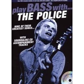 POLICE PLAY BASS WITH TAB CD