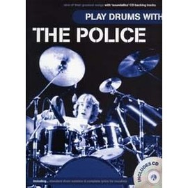 POLICE PLAY DRUMS WITH CD