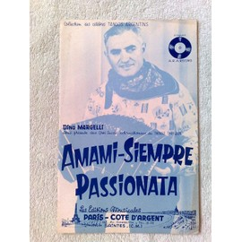 """amami-siempre"" et ""passionata"" (tangos typiques) de dino margelli"