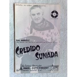 """credido"" et ""sunada"" (tangos typiques) de dino margelli"