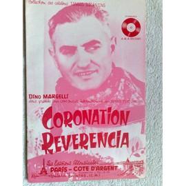 """""""coronation"""" et """"reverencia"""" (tangos typiques) de dino margelli"""