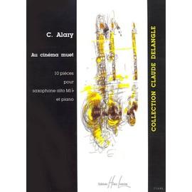 Au Cinéma muet Saxophone alto et Piano