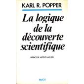 La Logique De La D�couverte Scientifique de karl popper