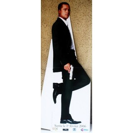 P.L.V Brad Pitt 172 X 52,5 cm silhouette