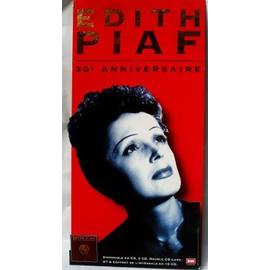 P.L.V Edith Piaf rouge 80 X 40 cm