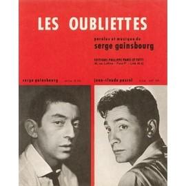 Serge Gainsbourg: Les Oubliettes