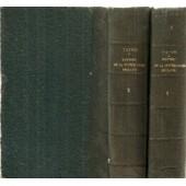 Histoire De La Litterature Anglaise, Tomes I & Ii de Taine, H.