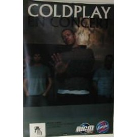 AFFICHE COLDPLAY - 80X120 CM