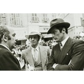 Photo Jean Paul Belmondo - Alain Delon