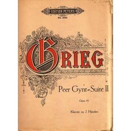Zweite Orchestersuite Aus Der Musik Zu Peer Gynt Op55