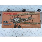 Maquette Avion Sopwith Camel 1/10 Guillow's