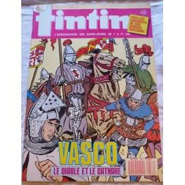 Tintin N� 638 : Vasco, Le Diable Et Le Cathare