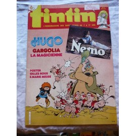 Tintin N� 512 : Hugo Gargolia La Magicienne