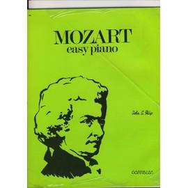Mozart easy piano par john l philip