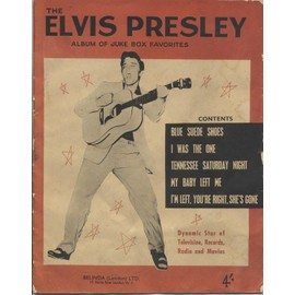THE ELVIS PRESLEY ALBUM OF JUKE BOX FAVORITES