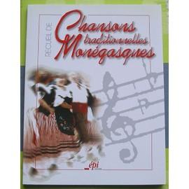 Recueil de Chansons Traditionnelles Monégasques