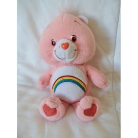 Peluche Bisounours Rose Care Bears