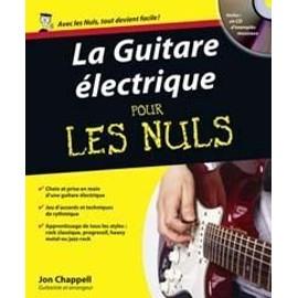 POUR LES NULS GUITARE ELECTRIQUE TAB CD