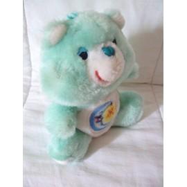 Peluche Bisounours Bleu Ancien Lune + Etoile By Care Bears