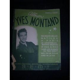 album Yves Montand, piano et chant