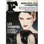 F Magazine N� 44 : Mich�le Cotta: Le Pdg � L'humour Tendre, Douze �tranges Records F�minins De 1981, Lolo: Une Strip-Teaseuse Consciencieuse