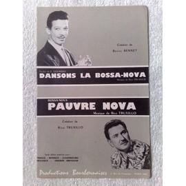 """dansons la bossa-nova"" par benny bennet // ""pauvre nova"" (bossa-nova) par rico truxillo"