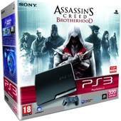 Console Ps3 320 Go + Assassin's Creed Brotherhood