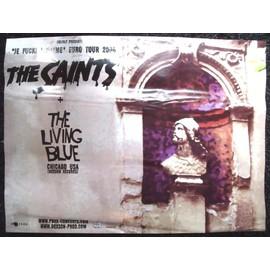 THE SAINTS Affiche de concert 60 X 80