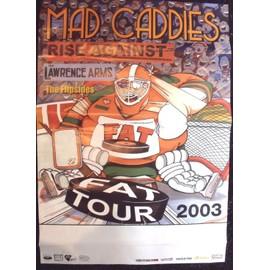 MAD CADDIES Affiche de concert 60 X 85