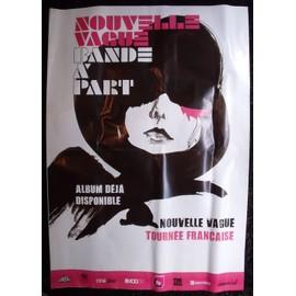 NOUVELLE VAGUE Affiche de concert 70 X 100