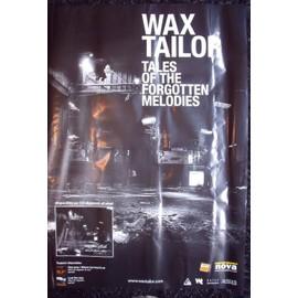 WAX TAILOR Affiche de concert 70 X 100