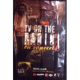 TV ON THE RADIO Affiche de concert 76 X 118
