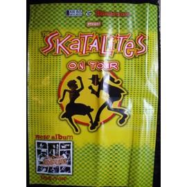 THE SKATALITES Affiche de concert 70 X 100