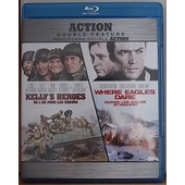 Kelly's Heroes/Where Eagles Dare - Blu Ray Import de Hutton Brian G