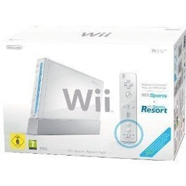 Image Pack Nintendo Wii Sports Resort Blanche Console Wii + Accessoires (Inclus Wii Sports + Wii Sports Resort)