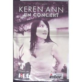 KEREN ANN Affiche de concert 40 X 60