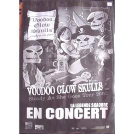 VOODOO GLOW SKULLS Affiche de concert 70 X 100