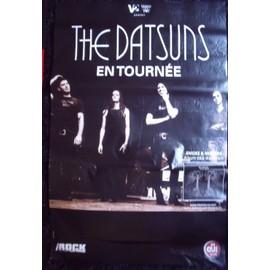 THE DATSUNS Affiche de concert 80 X 120