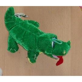 Peluche Tres Douce Crocodile Alligator Vert Sandy China