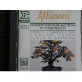 Concertos Pour Hautbois Et Pour Violon - Tomaso Albinoni