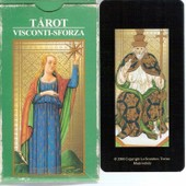 Tarot Visconti-Sforza 1450 - Jeu De 78 Cartes
