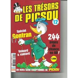 Les Tresors De Picsou Hors-S�rie N� 12 : 244 Pages De Chance En Bd