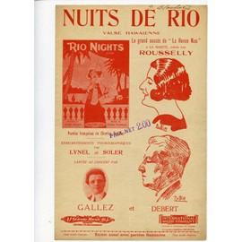 NUITS DE RIO VALSE HAWAIENNE - THOMPSON