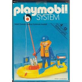 playmobil system 3574 (ancien) - le pecheur