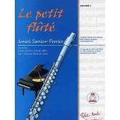 Sarrien-Perrier : Le Petit Fl�t� (+ 1 Cd) - Robert Martin
