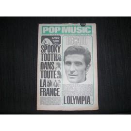 Pop Music Du 29 Octobre 1970 N� 31 : Becaud L'olypia , Spooky Tooth Dans Toute La France