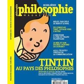 Philosophie Magazine Hors-S�rie N� 8 : Tintin Au Pays Des Philosophes