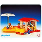 Playmobil 3497 : Maisonnette De Jeu Et Bac � Sable
